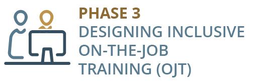 Designing Inclusive on-the-job training